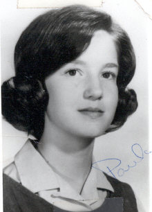 "Paula Phillips - I wrote on the back that she was my best friend, she wrote on the back ""To Christine, To a kool, keen, kat, Paula"" - paula_phillips"